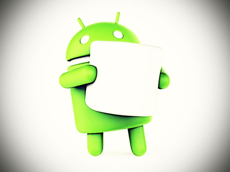 Android-Droide mit Marshmallow (von Facebook/AndroidOfficial)