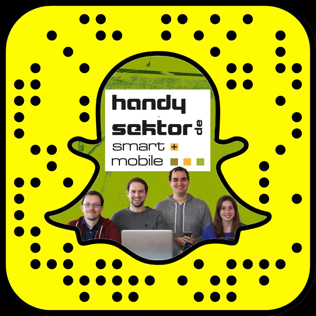 Handysektor-Snapcode
